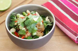Rhubarb Tofu