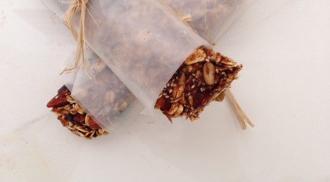oat & nut energy bars