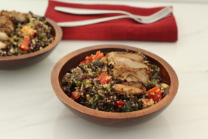Miso Chicken Salad, Nourishedpurely.ca