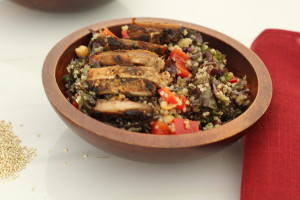 Miso Chicken Salad, Nourishedpurely.ca