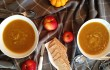 Homemade Healthy Roasted Pumpkin and Apple Soup