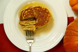 Irresistible Pumpkin Pancakes: Nourishedpurely.ca